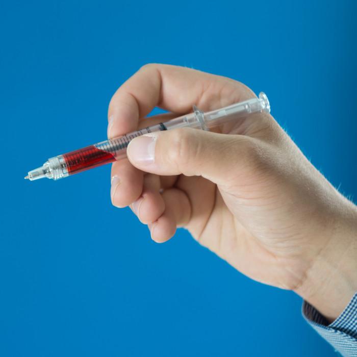 Długopis Strzykawka