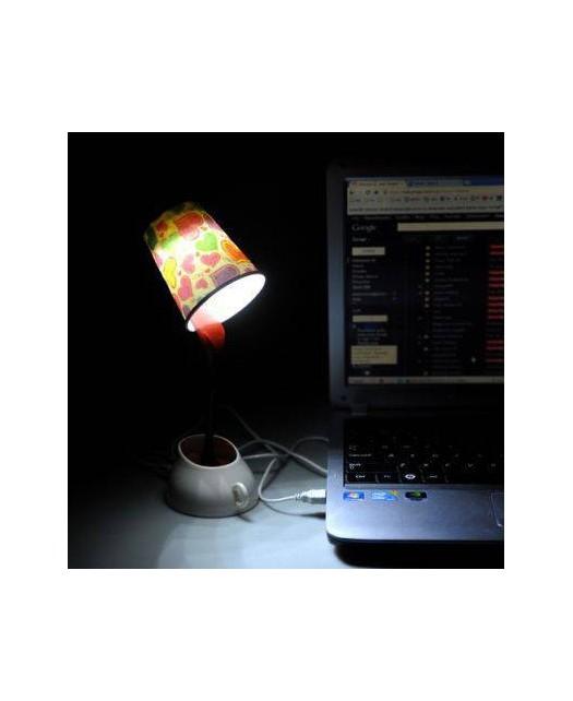 Kawowa lampka na USB