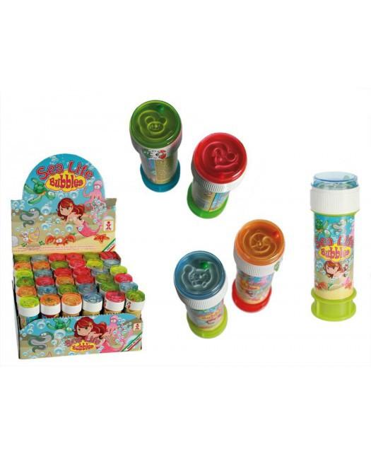 Bańki mydlane - podwodny świat