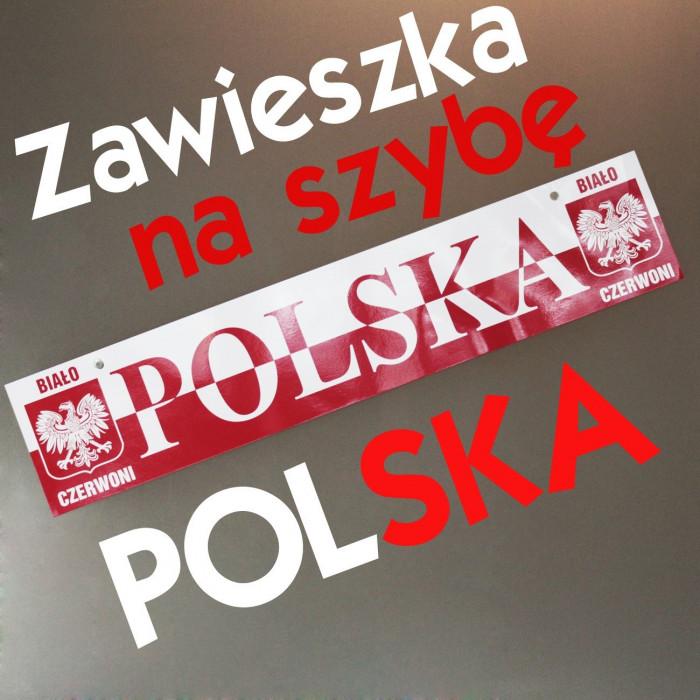Zawieszka na szybę POLSKA