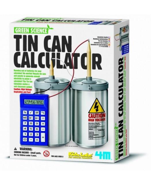 Kalkulator z puszki
