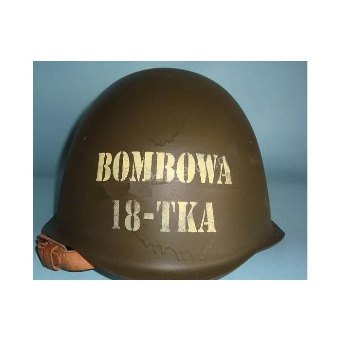 Hełm bombowa 18-latka