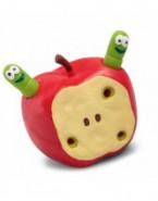 Rozciągliwe jabłko z robakami