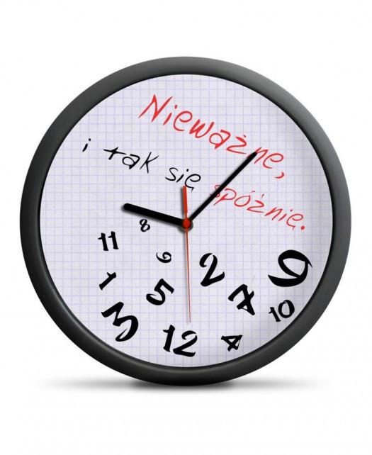 Zegar dla spóźnialskich