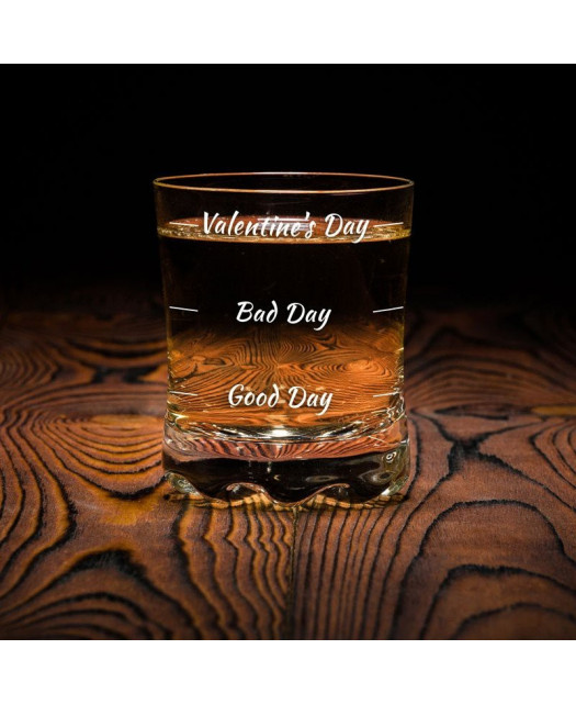 Szklanki do Whisky Valentine's Day