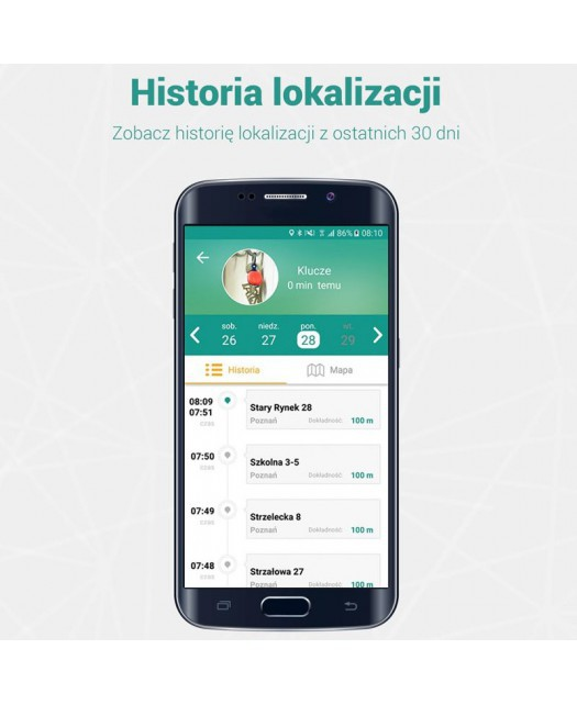 Lokalizator Bluetooth - NotiOne