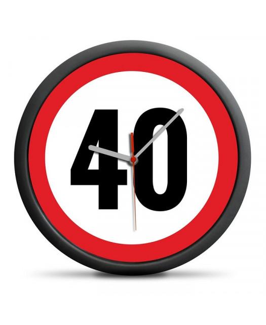 Zegar na 40 Urodziny