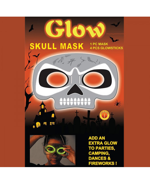 Świecąca Maska Czaszka
